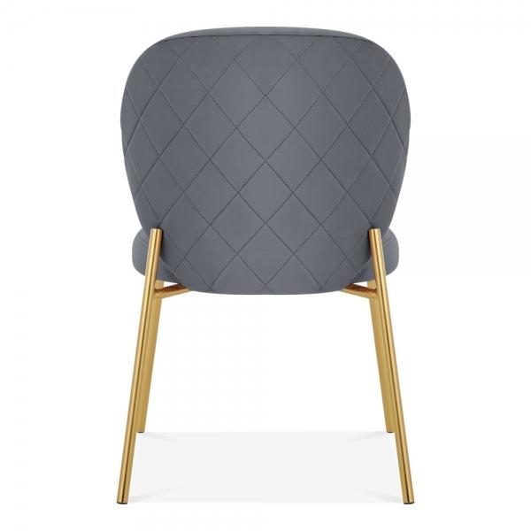 Custom Made Home/Commercial Use Velvet Fabric Cushion Chair