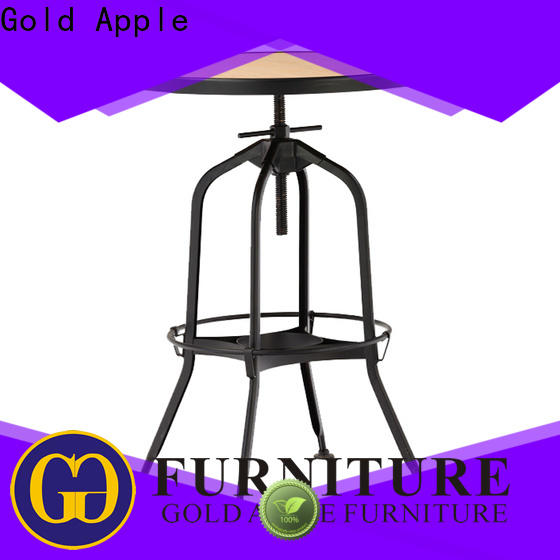 Gold Apple comfortable wood furniture dining table commercial at discount